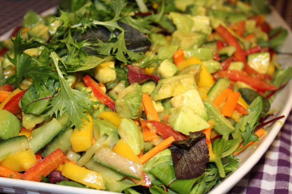 mango advokado salat